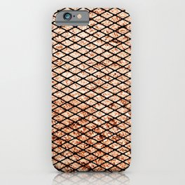 Grungy Fishnets Texture iPhone Case