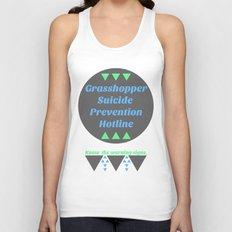 Grasshopper Suicide Prevention  Unisex Tank Top