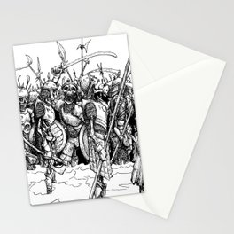 Skeleton Party Stationery Cards