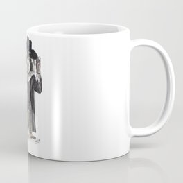 """ Raccoon Bandit "" funny western raccoon Coffee Mug"