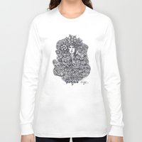 "flora Long Sleeve T-shirts featuring ""Flora"" by Cindy Lysonski - Creative Daydreamzzzz"