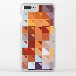 Sophistication of Color Clear iPhone Case