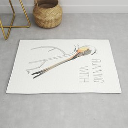 Running With Scissors (Scissor-tailed Flycatcer) Rug