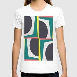 Modern Geometric 65 Green T-shirt