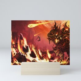 Rift Fire Colossus Mini Art Print