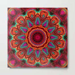 Kaleidoscope for moments of relaxation Metal Print
