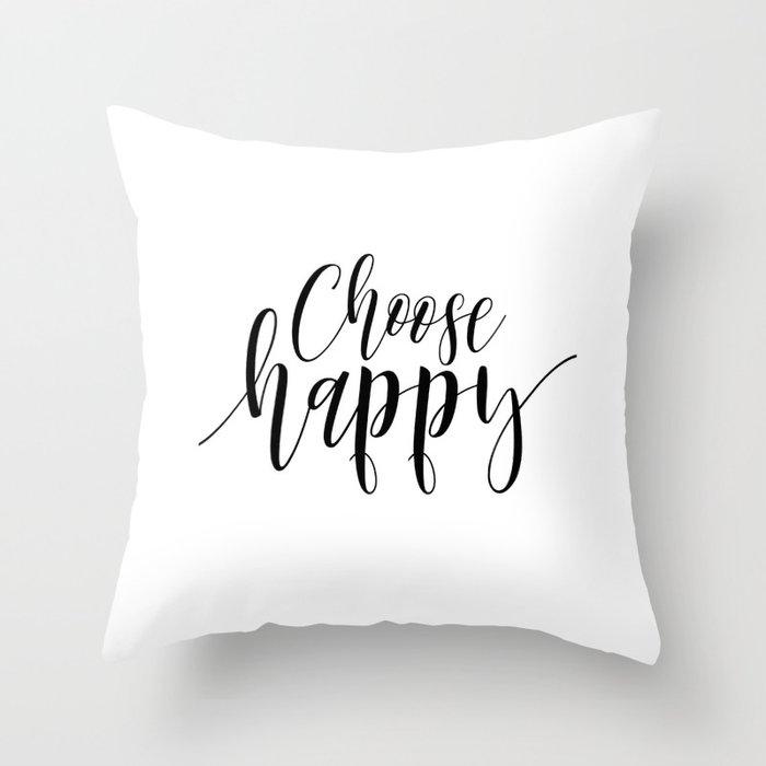 Choose Happy Art Prints Happiness Printable Quote Prints