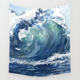 Kai's Wave Wall Tapestry