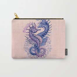 Seahorse tattoo Carry-All Pouch