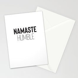 Namaste Humble Stationery Cards