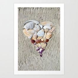 Heart of the Sea Art Print