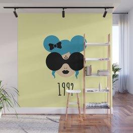 90's Baby (yellow) Wall Mural