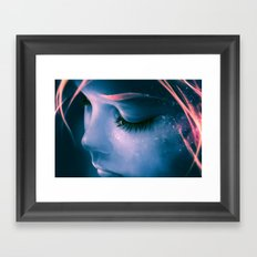 Focus on yourself Framed Art Print