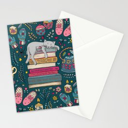 How to Hygge Like a Cat Stationery Cards