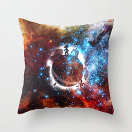 planet namek Throw Pillow