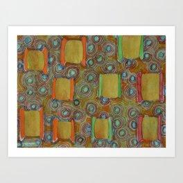 Several reels of thread Art Print