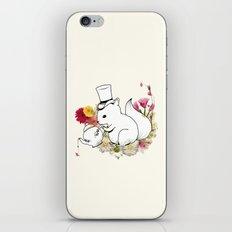 Hibisquiño iPhone & iPod Skin