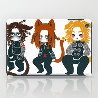 bucky barnes iPad Cases featuring bucky by noCek