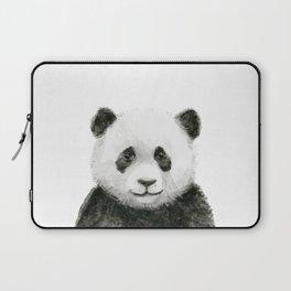 Baby Panda Watercolor Laptop Sleeve