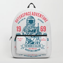 Outer space Adventure - Born to be an astronaut Backpack