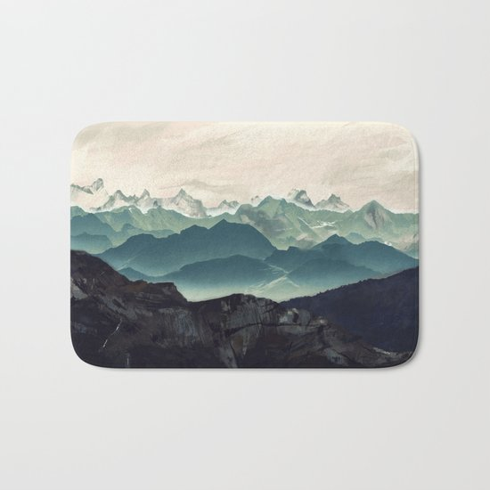 Shades of Mountain Bath Mat
