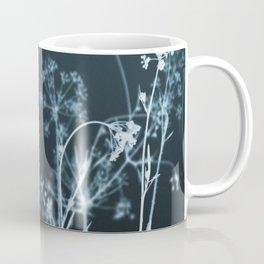 Still of the Night. Dark Floral Coffee Mug