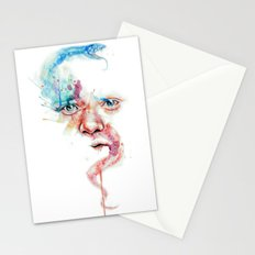 Hippocrates face Stationery Cards