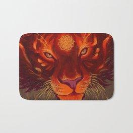 Fire Tiger Bath Mat