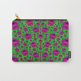Fantasy Valentine in floral love and peace time Carry-All Pouch