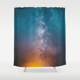 Igniting The Galaxies Shower Curtain