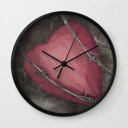Trapped Heart II Wall Clock