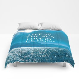 BY THE SEA Comforters