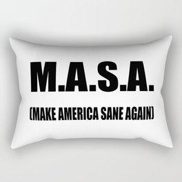 M.A.S.A Rectangular Pillow