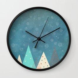 Xmas tree Wall Clock