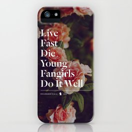 Fangirls Do It Well iPhone Case