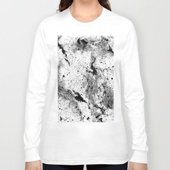 Galaxy (B/w inverted) Long Sleeve T-shirt
