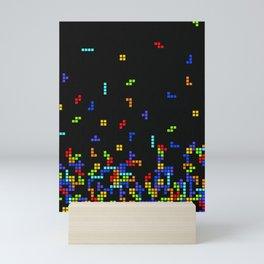 Tetris Time Mini Art Print