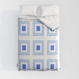 Tribute to mondrian 5- piet,geomtric,geomtrical,abstraction,de  stijl, composition. Comforters