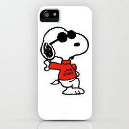the peanuts iPhone Case