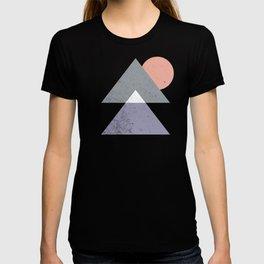 Mountain Peaks Sunset T-shirt