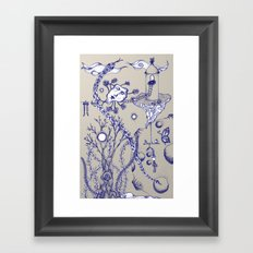 Moons Framed Art Print