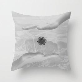 Sacred Cramps Throw Pillow