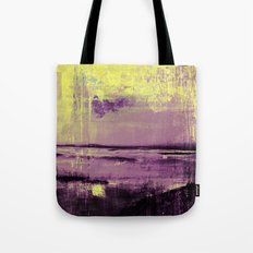 Yellow Color Patches Tote Bag