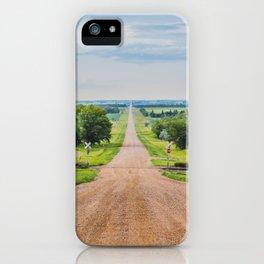 Kongsberg, North Dakota 3 iPhone Case
