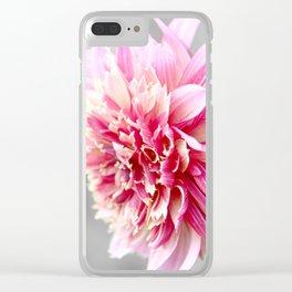 Dahlia delicate Clear iPhone Case