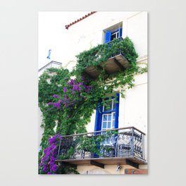 Chania Old Town View Canvas Print