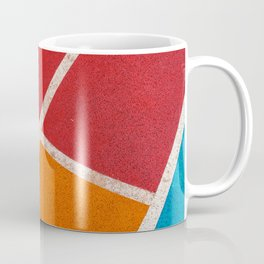 Three colors and white Coffee Mug