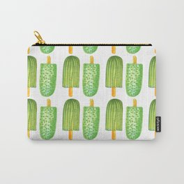 Cactus Popsicles Pattern #society6 #decor #buyart Carry-All Pouch