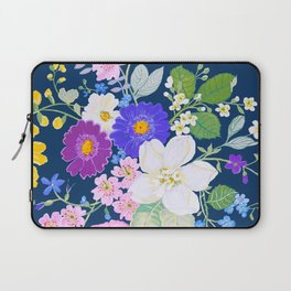 English Bouquet Laptop Sleeve