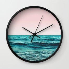 Ocean Love #society6 #oceanprints #buyart Wall Clock